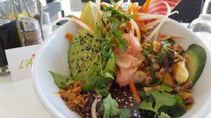 Salade nommée l'agrume